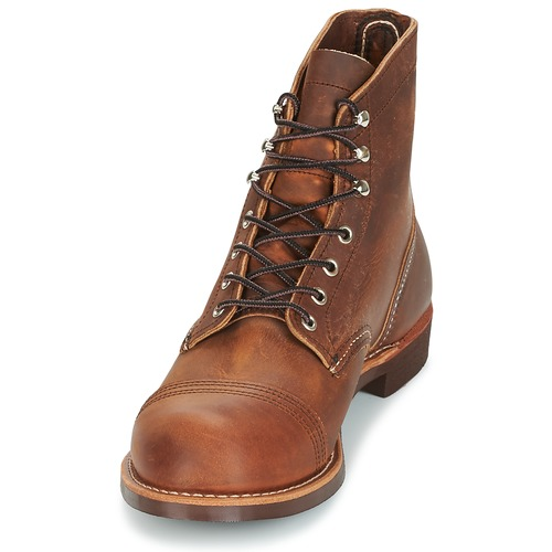 Chaussures Wing Red Iron Ranger Marron Homme Boots vNwn0m8
