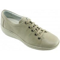 Chaussures Femme Derbies Aerobics Olaf Confortable - Derby Beige