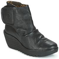 Chaussures Femme Bottines Fly London YOMI Noir