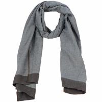 Accessoires textile Femme Echarpes / Etoles / Foulards Antik Batik ZOE Bleu / Marron