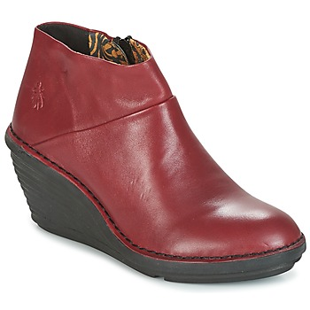 Chaussures Femme Boots Fly London SIPI 671 Rouge