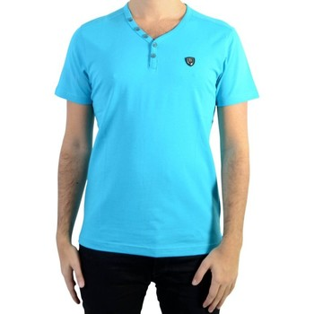 Vêtements Homme T-shirts manches courtes Redskins Tee Shirt  Ares Warner Turquoise Bleu