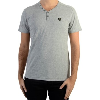 Vêtements Homme T-shirts manches courtes Redskins Tee Shirt  Ares Warner Grey Chine Gris