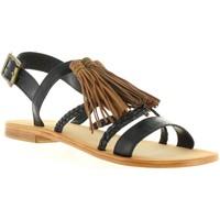 Chaussures Femme Sandales et Nu-pieds MTNG 94438 Negro