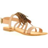 Chaussures Femme Sandales et Nu-pieds MTNG 94438 Beige
