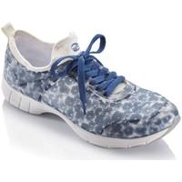 Chaussures Femme Baskets mode Gabor Baskets motif fleuri Bleu