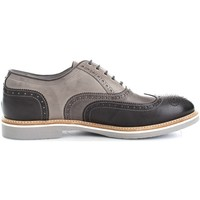 Chaussures Homme Baskets basses Nero Giardini P704842U Chaussures de ville Homme Grey/Anthracite Grey/Anthracite