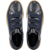 Chaussures Homme Baskets mode Highlight Baskets En Cuir  Mickey Bleu Femme Bleu