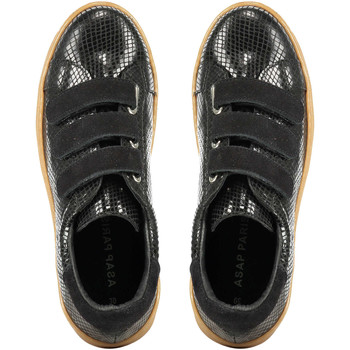 Chaussures Homme Baskets mode Highlight Baskets  Mickey Noir Femme Noir