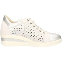 Chaussures Femme Baskets basses Melluso R20111 Sneakers Femme Argent Argent