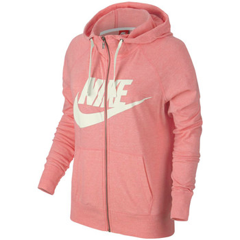 Vêtements Femme Vestes de survêtement Nike Gym Vintage Hoodie FZ GX Bright Melon / Sail