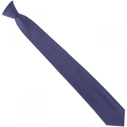 Vêtements Homme Cravates et accessoires Emporio Balzani cravate en soie pois bleu Bleu