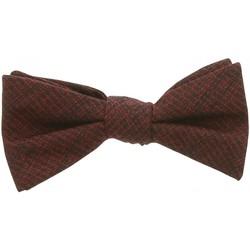 Vêtements Homme Cravates et accessoires Andrew Mc Allister noeud papillon dandy bordeaux Bordeaux