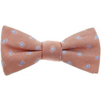 Vêtements Homme Cravates et accessoires Andrew Mc Allister noeud papillon dandy orange Orange