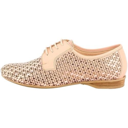 Chaussures Femme Derbies Dorking 7046 beige