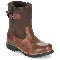 Chaussures Femme Boots Blackstone OL05 Marron