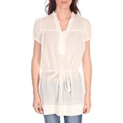 Vêtements Femme Tops / Blouses Vision De Reve Tunique Claire 7090 Ecrue Beige