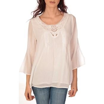 Vêtements Femme Tops / Blouses Vision De Reve vision de rêve tunique 9005 blanc Blanc