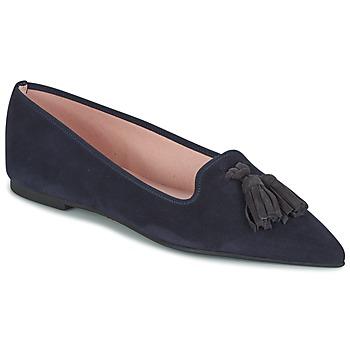 Chaussures Femme Ballerines / babies Pretty Ballerinas ANGELIS NAVY BLUE V007 /ANGELIS BALDER Bleu