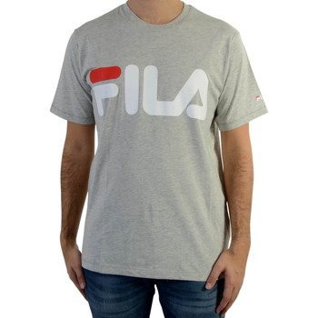 Vêtements Homme T-shirts manches courtes Fila Tee Shirt  Classic Logo Light Grey Gris