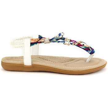 Chaussures Femme Tongs Cendriyon Tongs Blanc Chaussures Femme, Blanc