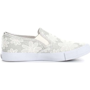 Chaussures Fille Ballerines / babies Lulu LuLù FRUFRU  Fille White/Silver White/Silver