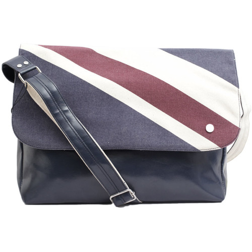 Sacs Sacs Bandoulière Ben Sherman Sac Union print messenger Bag navy