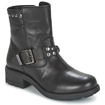 Chaussures Femme Boots Les Tropéziennes par M Belarbi LIAM Noir