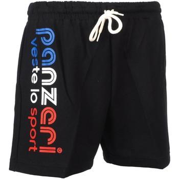 Vêtements Homme Shorts / Bermudas Panzeri Uni a noir/bbr jersey Noir