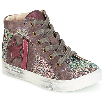 Chaussures Fille Baskets montantes GBB MARTA Rose