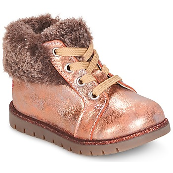 Chaussures Fille Boots GBB RENATA Rose