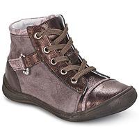 Chaussures Fille Boots GBB ROMIE Rose / Bordeaux