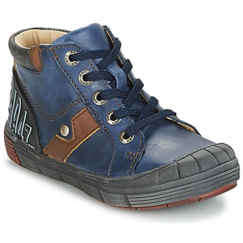 Chaussures Garçon Baskets montantes GBB RENOLD VTE MARINE DPF/2831