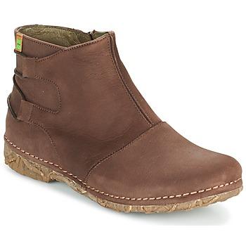 Chaussures Femme Boots El Naturalista ANGKOR Marron