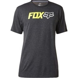Vêtements Homme T-shirts & Polos Fox T-shirt  Obsessed Ss Tech Heather Black Gris Foncé