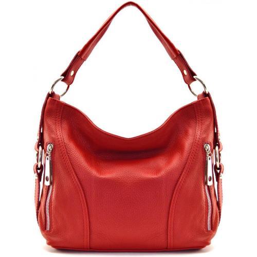 Sacs Femme Sacs porté épaule Oh My Bag Sac à Main CUIR femme - Modèle S rouge  clair ROUGE CLAIR