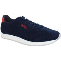 Chaussures Homme Baskets basses Guess Baskets  sneakers ref_guess40809 bleu Bleu