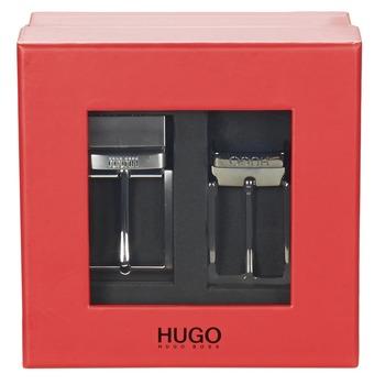 Accessoires textile Homme Ceintures HUGO-Hugo Boss GIBILSY Noir