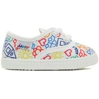 Chaussures Fille Baskets basses Javer 60-9 blanc