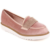 Chaussures Femme Mocassins Cendriyon Ballerines Rose Chaussures Femme, Rose