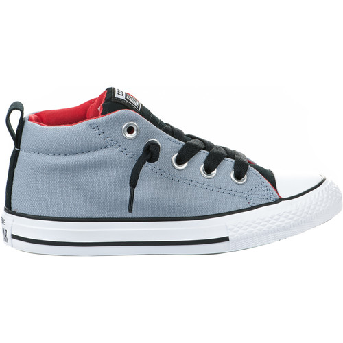 converse baskets gar on gris 27 gris chaussures basket enfant 40 00. Black Bedroom Furniture Sets. Home Design Ideas