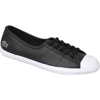 Chaussures Femme Baskets mode Lacoste Ziane BL 1 SPW0140024 Noir