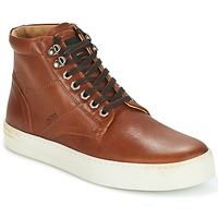 Chaussures Homme Baskets montantes Hugo Boss Orange NOIR HALB LTWS Cognac