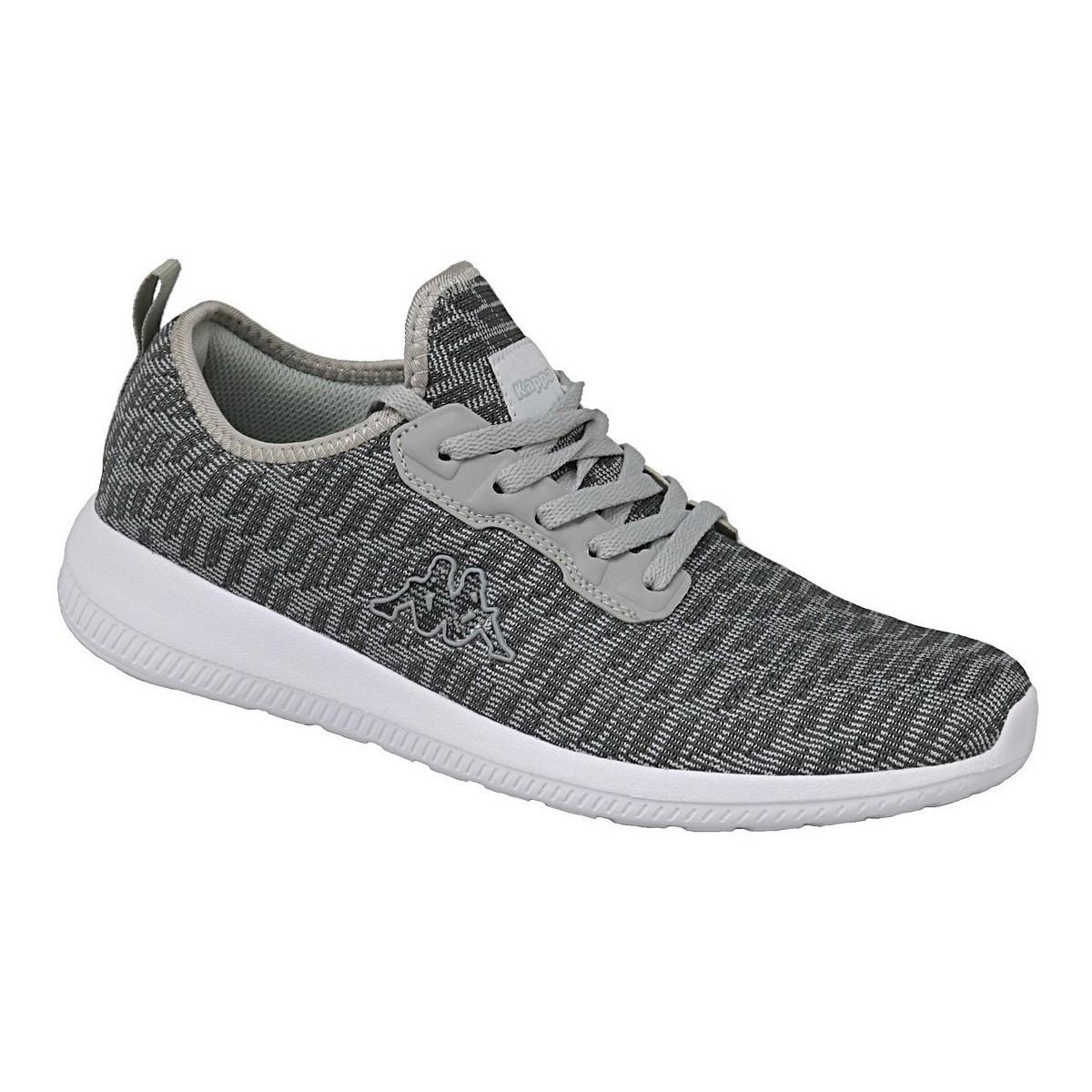 Kappa Gizeh 242353-1614 Grey - Chaussures Basket