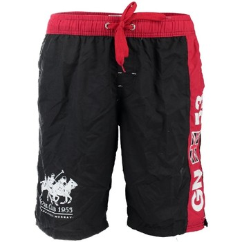 Vêtements Garçon Maillots / Shorts de bain Geographical Norway Maillot de Bain Garà§on Quatar Noir Bleu