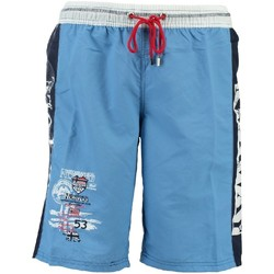 Vêtements Garçon Maillots / Shorts de bain Geographical Norway Maillot de Bain Garà§on Quepi Turquoise