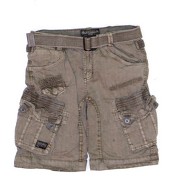Vêtements Garçon Shorts / Bermudas Geographical Norway Bermuda Enfant Pericolo Kaki