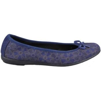 Chaussures Femme Ballerines / babies Vulladi SERRAJE MANOLETINA FLORES BLUE