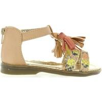 Chaussures Fille Sandales et Nu-pieds Flower Girl 340210-B1080 Beige