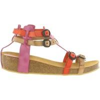 Chaussures Fille Sandales et Nu-pieds Kickers 420390-30 BOMDIA Rosa